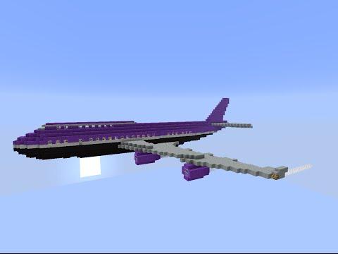 Как в майне сделать самолет