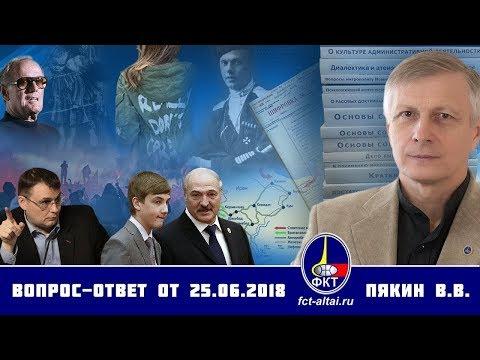Вопрос-Ответ Валерий Пякин от 25 июня 2018 г. - DomaVideo.Ru