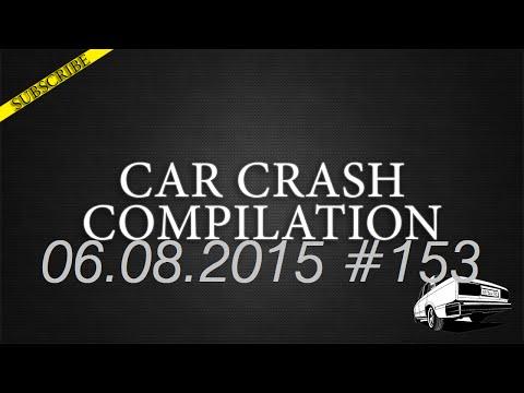 Car crash compilation #153 | Подборка аварий 06.08.2015