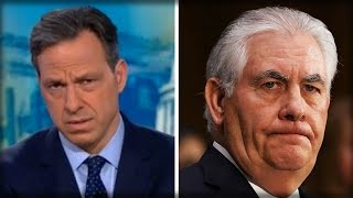 REX TILLERSON MAKES UNPRECEDENTED MOVE... CNN'S JAKE TAPPER INSTANTLY CALLS IT 'INSULTING'