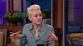 Miley Cyrus Interview On The Tonight Show with Jay Leno (30th January 2014)