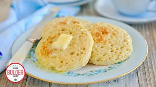 No-Knead Homemade Crumpets (No Oven Needed!) by Gemma's Bigger Bolder Baking