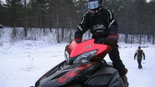 1. FAST Yamaha Apex  vs.  NEW SKi-Doo 800 E-TEC