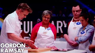 How to Cut Pork Fillet Steaks from the Loin   Gordon Ramsay by Gordon Ramsay