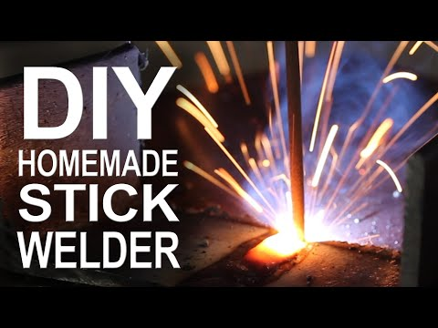 homemade - Did you know you can make an AC arc welder using parts from your microwave? I just finished mine, so join me in this video as we put its welding capabilities...