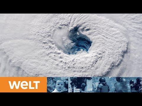 RIESIGE WASSERWAND: Hurrikan