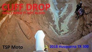 3. I Survived! Cliff drop 2018 Husqvarna TX 300