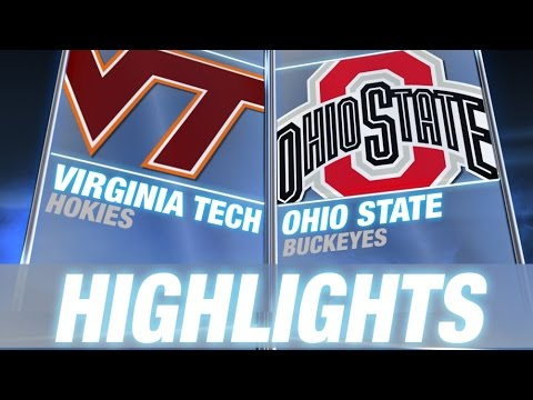Virginia Tech vs Ohio State %7C 2014 ACC Football Highlights