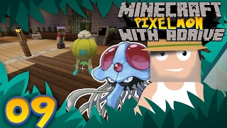 FOCUS SASH!!! POISON GYM! Minecraft PIXELMON with aDrive! Ep09 - PocketPixels Red Let's Play! by aDrive