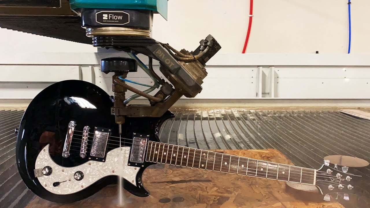 Can a Waterjet play an Electric Guitar?