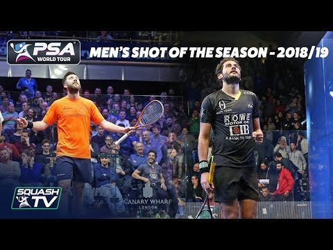 Squash: Men's Shot of the Season Shortlist 2018/19