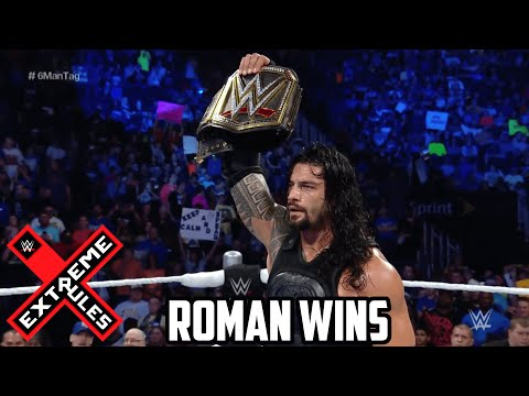 WWE Extreme Rules 2016 Roman Reigns vs Aj Styles Extreme Rules WWE World Heavyweight Title Match PG