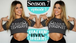 New 'normal vlog' coming tomorrow morning! But this iiiis **SPOILERS** Full Game of Thrones review! Ashley and I breakdown the newest episode, Season 7 Episo...