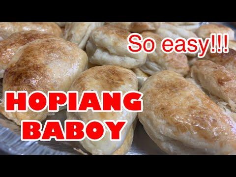 Paano gumawa ng hopiang baboy  panaderia style  Buhay Japan