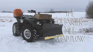 8. Quarter Mile Snow Plow | Kodiak 450