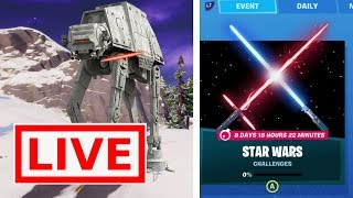 *NEW* FORTNITE STAR WARS EVENT RIGHT NOW! LIVE EVENT(Fortnite Battle Royale)
