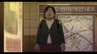 Seoul Station Clip   Train To Busan Animated Prequel