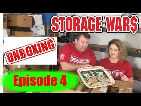 Storage Wars $30,000 Unit Unboxing Video Episode 4 Coca Cola Retro