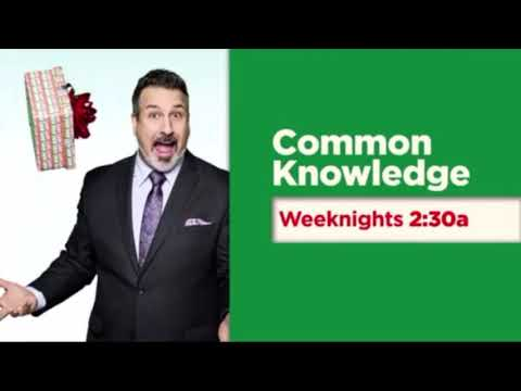GSN Common Knowledge Season of Knowing Promo Weeknights at 2:30am (:15)