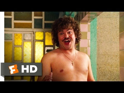 libre - Nacho Libre Movie Clip - watch all clips http://j.mp/wVmRag click to subscribe http://j.mp/sNDUs5 Esqueleto (Héctor Jiménez) listens to the song Nacho (Jac...