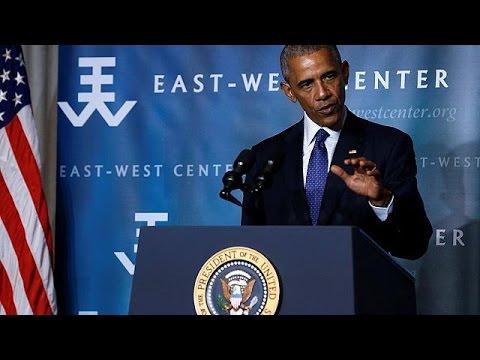 Επιμένει στη λήψη μέτρων για την προστασία του περιβάλλοντος ο Μπαράκ Ομπάμα