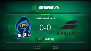ESEA Season 23 - Rogue vs Epsilon - map1 - de_train - [Monkey]