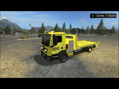 MAN towing FS17 v1.0