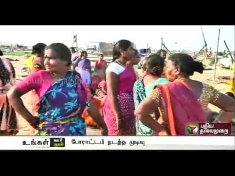 Residents-of-Nochikuppam-complain-of-frequent-accidents-due-to-speeding-vehicles