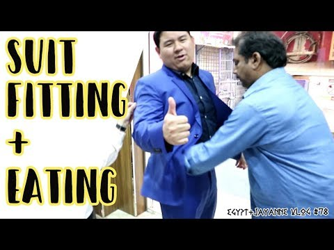 Suit Fitting + Pansit Eating  l Egypt & J Anne Vlog #78