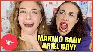 I teach baby Ariel how to be a famous youtuberfollow her - https://www.youtube.com/babyarielFollow all my thingsTwitter - http://www.twitter.com/mirandasingsFacebook - https://www.facebook.com/mirandasingsofficialyoutube - http://www.youtube.com/mirandasings08Instagram - http://instagram.com/mirandasingsofficialVine - https://vine.co/u/9354589209175490564 tickets to my show. gO to my website: MirandaSings.comget my book - http://www.mirandasings.comget my merchandizze - http://mirandasings.spreadshirt.com/