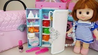 Video Baby doll Hand bag closet and surprise eggs toys play MP3, 3GP, MP4, WEBM, AVI, FLV Juli 2017