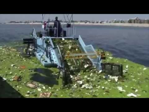 Cleantec Infra : Trash Skimmer For Ahmedabad Municipal Corporation