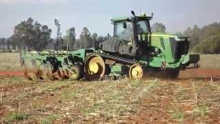 Video John Deere 9560RT tractor deep ripping MP3, 3GP, MP4, WEBM, AVI, FLV November 2017