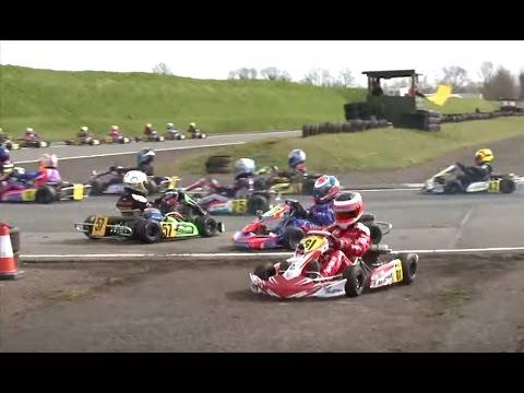 Super 1 British Karting Championships 2014: MSA Series Rd 1 Part 5 IAME Cadet IAME Cadet