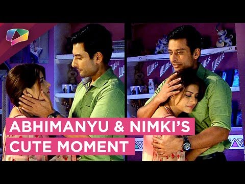 Abhimanyu And Nimki Share A Cute Moment | Nimki Mu