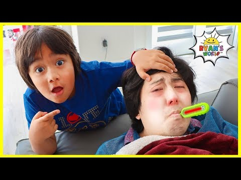 Why do we get sick????  Educational Video for kids with Ryan!!!