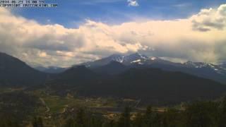 2014-06-23 - Estes Park RMNP Longs Peak Time-Lapse