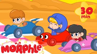 Video My Red Racecar Morphle and the Fantasy Race! - Kids Animation Video episodes MP3, 3GP, MP4, WEBM, AVI, FLV Juni 2017