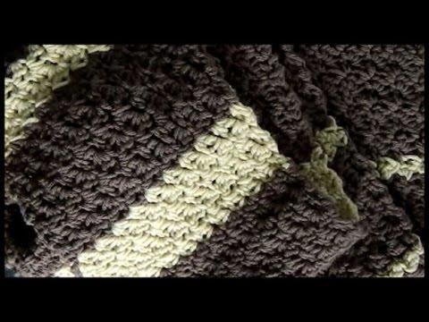 uncinetto - sciarpa con il punto disegno