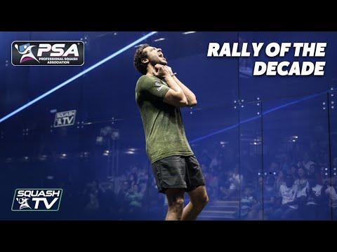 Squash: TOP 10 MEN'S RALLIES OF THE DECADE