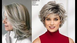 Corte de cabelo - Cortes de Cabelos Modernos para Mulheres Acima dos 50 anos