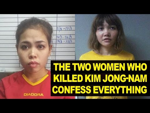 Kim Jong-nam's Assassins Confess And Reveal All (видео)