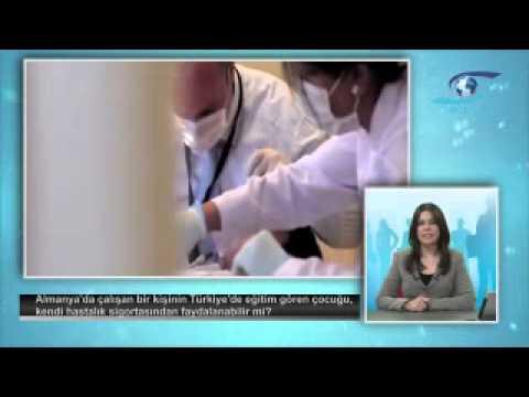 Almanya'da çalışan bir kişinin Türkiye'de öğrenim gören çocuğu, kendi hastalık sigortasından faydalanabilir mi