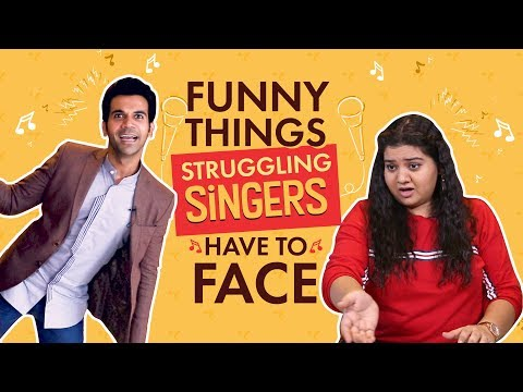 Rajkummar Rao, Pihu Sand : Things Struggling Singers Face | Fanney Khan | Bollywood | Pinkvilla