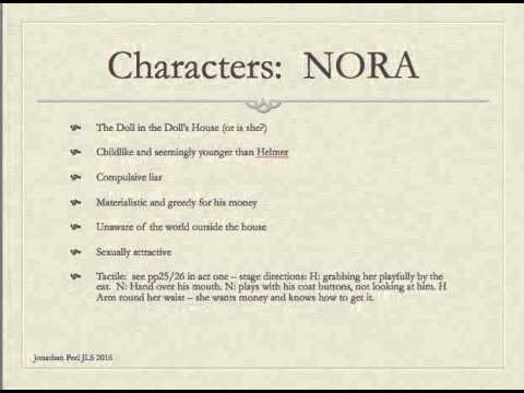 character analysis a doll s house A doll's house: character analysis objective: inferring character traits based on the action of the play choose from the list below the three most prominent traits that fit the characters of nora, torvald, krogstad, mrs linde, and doctor rank.