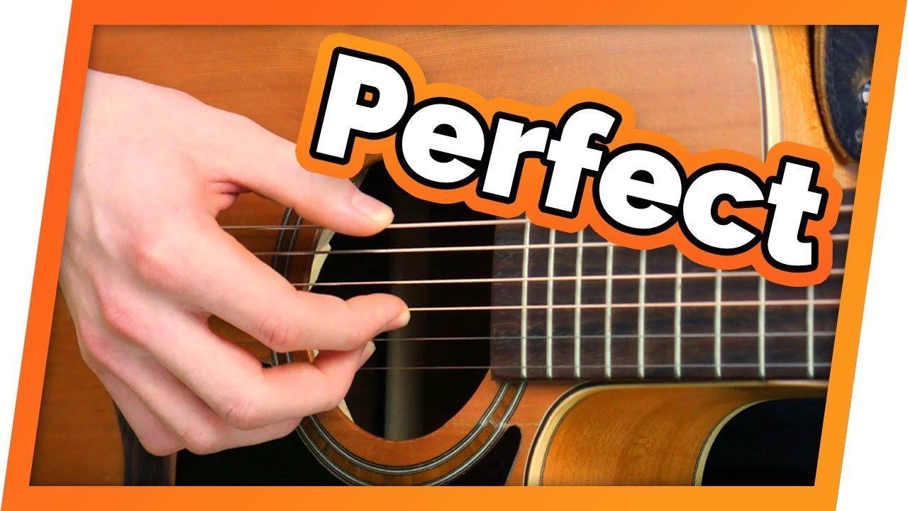 Perfect – Ed Sheeran – Fingerstyle Tutorial (Intermediate Level)