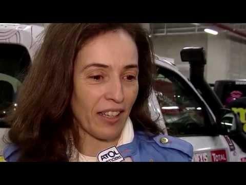 Elisabete Jacinto no 25º Rallye Aïcha des Gazelles