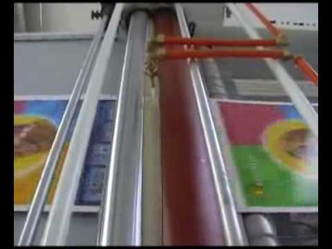 Oil Passing and UV Coating Machine SGA 720 1000 1200