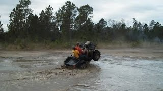 9. GOING DEEP!  Mudding on a Sportsman 800 X2