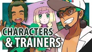 POKEMON SUN & POKEMON MOON Trainer + Character Discussion w/ TheKingNappy! by King Nappy